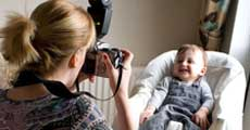 how to photograph babies and young children